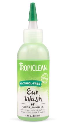 Tropiclean Alcohol-Free Ear Wash (4oz)