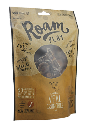 Roam Play Veal Crunchies Treats ( 150g )