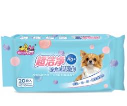 Honey care Pet Wipes ( 20sheets / 80sheets)