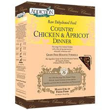 Addiction Dog Dehydrated Country Chicken & Apricot Dinner ( 2lb/ 8lb )