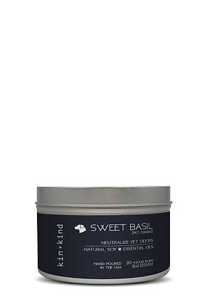 Kin + Kind Sweet Basil Candle (8oz)