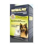 Natural Pet Super Multi & Glucosamine Supplement ( 60 tablets / 240 tablets )