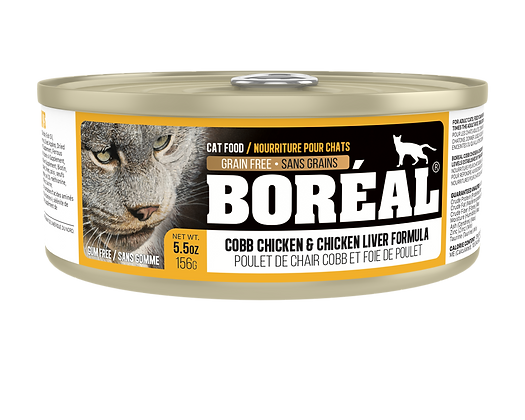 BORÉAL COBB CHICKEN AND CHICKEN LIVER (150g)