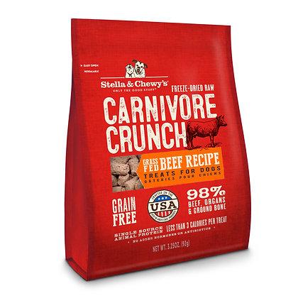 Stella & Chewy's Carnivore Crunch Beef Recipe (3.25oz)