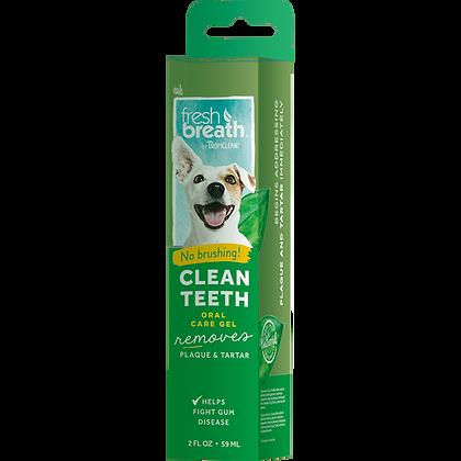 Tropiclean Dog Clean Teeth Gel (2oz/4oz)