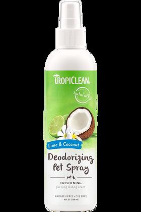 Tropiclean Lime & Coconut Deodorizing Pet Spray ( 8 fl.oz )