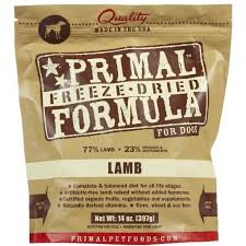 Primal DOGS Freeze-Dried Lamb Formula ( 14oz X 2packets )