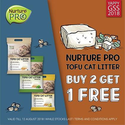 Nurture Pro Tofu Cat Litter PROMO