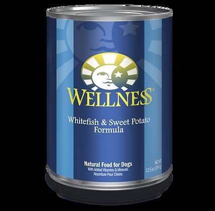 Wellness Whitefish & Sweet Potato canned ( 12.5oz )
