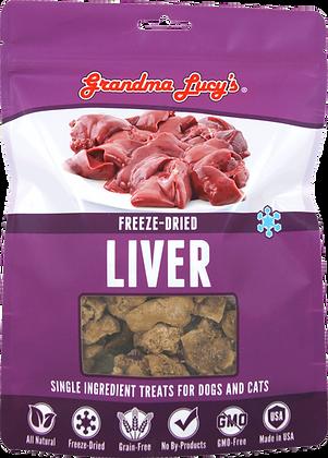 Grandma Lucy's Freeze Dried Singles Liver Treats ( 3oz )