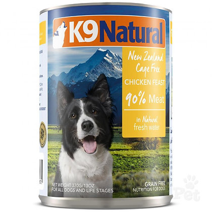 K9 Natural Canned Dog Food – Chicken Feast ( 170g / 370g )