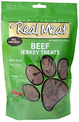 Real Meat Beef Jerky For Dogs (4oz)