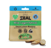 Zeal Freeze Dried Green Lipped Mussels (50g)