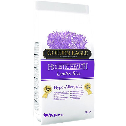 Golden Eagle Holistic Health Hypo Allergenic Lamb & Rice Formula ( 2kg/ 10kg)
