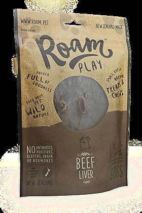 Roam Play Beef Liver Treats ( 125g )
