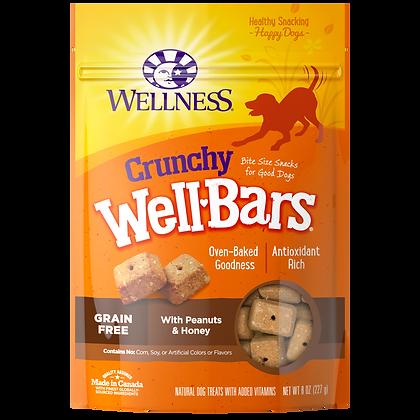WellBars Peanut & Honey ( 8oz )