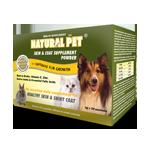 Natural Pet Skin & Coat Supplement ( 30 sachets / 1 tub 400gram )