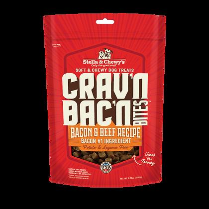 Stella & Chewy's Crav'n Bac'n Bites Bacon & Beef (8.25oz)