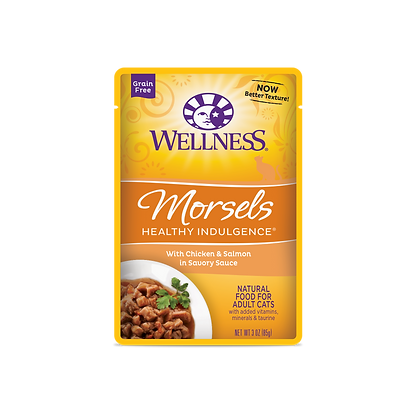 Wellness Healthy Indulgence Grain Free Chicken & Salmon Wet Food (3oz)