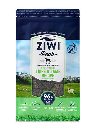 Ziwi Peak Air Dried Tripe & Lamb Dog Food