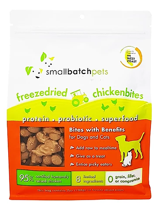 Smallbatch Freeze Dried Chicken Bites (7oz)