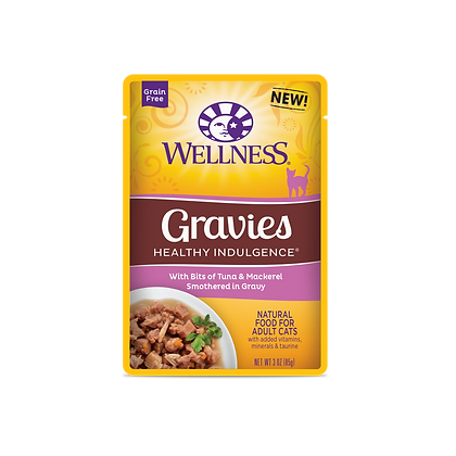 Wellness Healthy Indulgence Grain Free Tuna & Mackerel Wet Food (3o