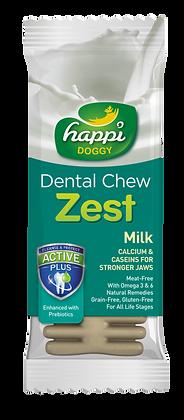Happi Doggy Gluten Free 4inches Milk Dental Chew