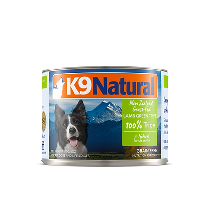 K9 Natural Canned Dog Food – Lamb Green Tripe ( 170g / 370g )