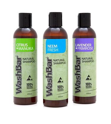 WashBar 100% Natural Shampoo ( 250ml )
