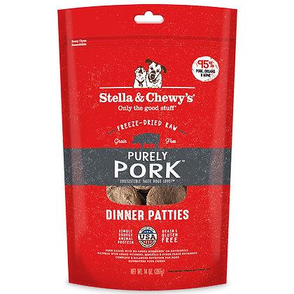 Stella & Chewy's Pork Patties ( 14 oz )
