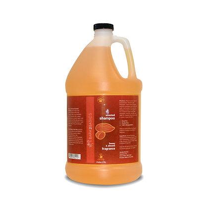 Bark 2 Basics Honey & Almond Scented Shampoo ( 1 Gallon )