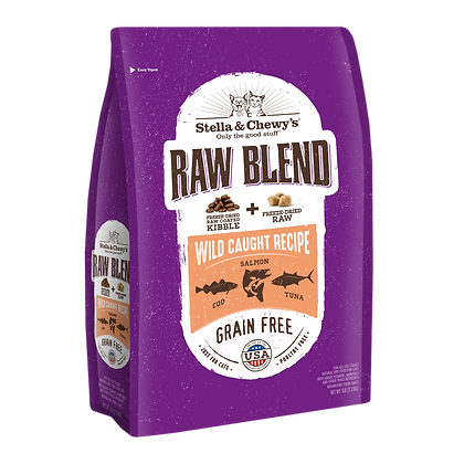 Stella & Chewy's Cat Raw Blend Wild Caught Recipe (5lb)