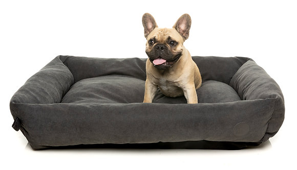 Fuzzyard The Lounge Bed Charcoal