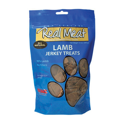 Real Meat Lamb Jerky For Dogs (4oz)