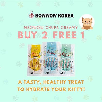 Meowow Chupa Creamy PROMO