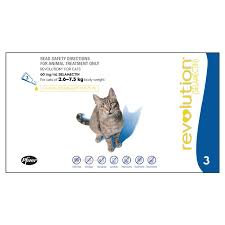 Revolution for Cats 2.6 Kg - 7.5 Kg