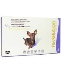 Revolution for Dogs 2.6 Kg - 5Kg