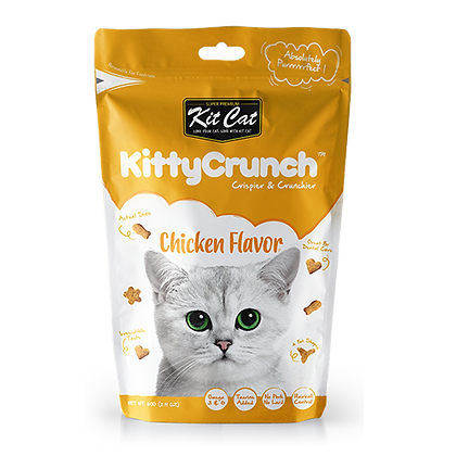 Kit Cat Kitty Crunch Chicken Flavor ( 60g )