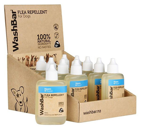Washbar 100% Natural Flea Repellent ( 40ml )