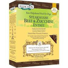 Addiction Dog Dehydrated Steakhouse Beef & Zucchini ( 2lb/ 8lb )