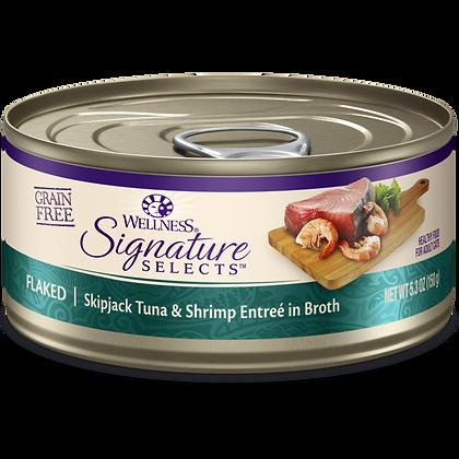 Wellness Signature Flaked Skipjack Tuna & Shrimp ( 5.3oz )