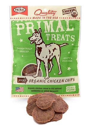 Primal Treats Jerky Organic Chicken Chips ( 85g )