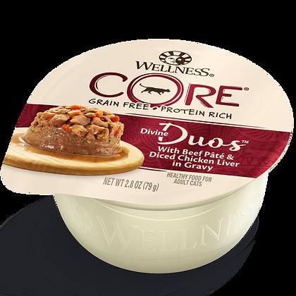 Wellness Divine Duos Beef & Chicken ( 2.8oz )