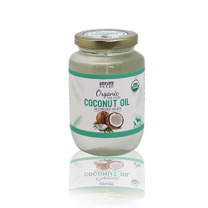 Absolute Plus Organic Raw Virgin Coconut Oil ( 180ml / 400ml )