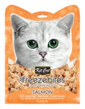 Kit Cat Freeze Bites Salmon Freeze Dried Cat Treats 15g