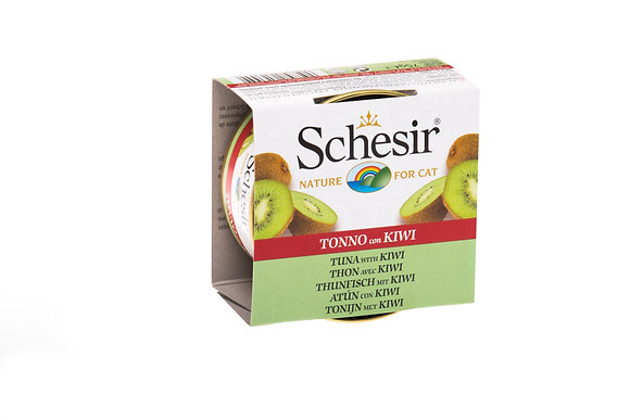 Schesir Tuna & Kiwi Canned For CATS ( 75g )