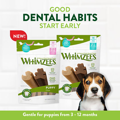 Whimzees Puppy Buy 2 free 1