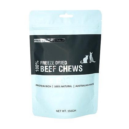 Freeze Dry Australia Beef Chews (150g)