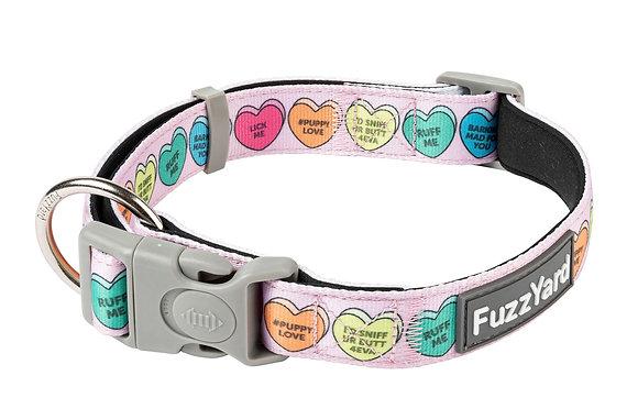 Fuzzyard Collar Candy Hearts