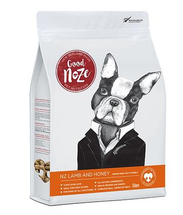 Good Noze Winston Freeze Dried NZ Lamb & Honey ( 350g )